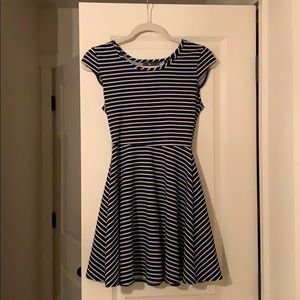 Dresses & Skirts - Blue and White striped dress (medium)